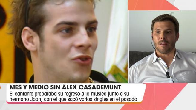 Joan, hermano de Álex Casademunt, cuenta cómo está siendo la vida sin él