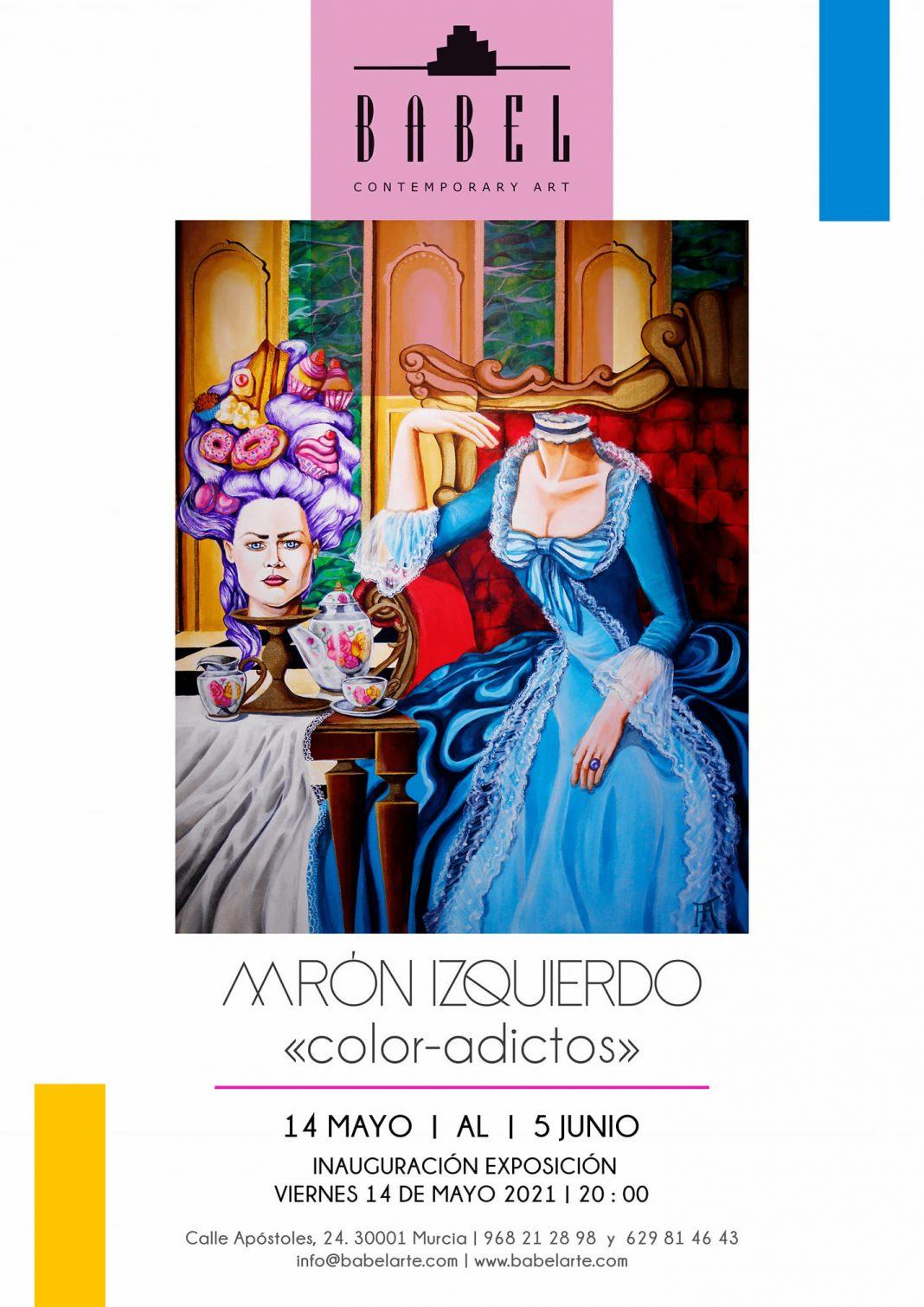 """La Galería Babel de Murcia inaugura este viernes la exposición """"Color-Adictos"""""""