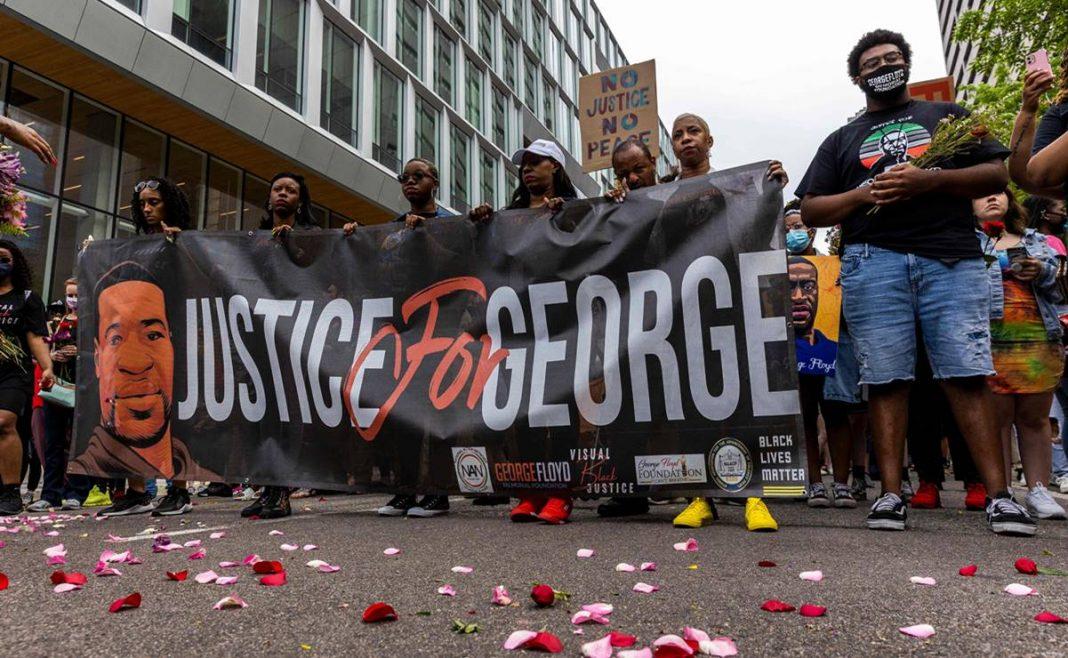 Alerta por disparos en Minneapolis durante la conmemoración de la muerte de George Floyd
