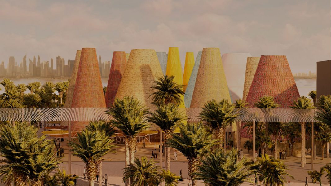 El proyecto para el pabellón de España en la Exposición Universal de Dubái.