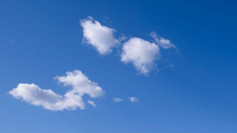 Cielos poco nubosos y probables chubascos en las sierras