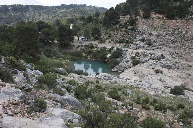Las piscinas naturales de la Región de Murcia se convierten en un destino más en verano