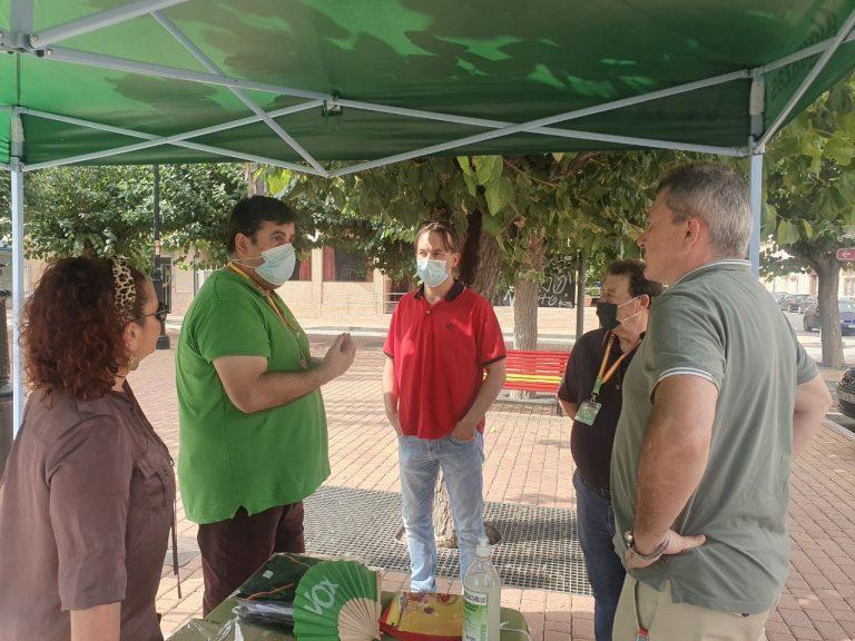 VOX muestra su apoyo a los vecinos de Alguazas tras los últimos sucesos
