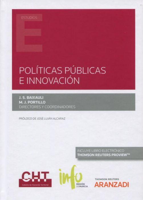 La UMU presenta este martes el libro 'Políticas públicas e innovación'
