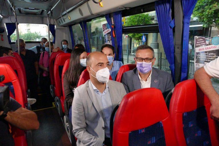 El servicio gratuito de transporte público urbano arranca este viernes en Molina de Segura